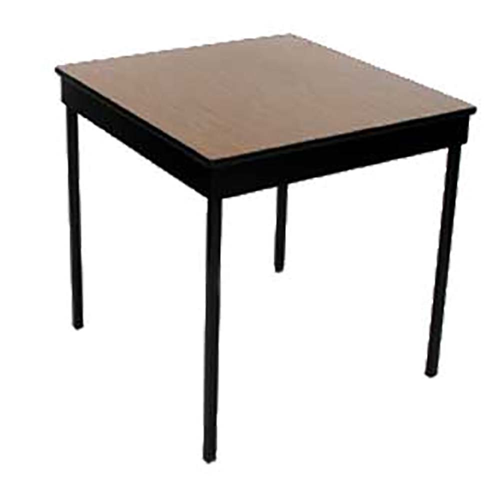 Maywood Furniture DLSTATSQ Stationary Square Office Table X - 72 x 72 square dining table