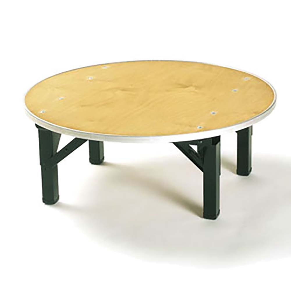 Maywood DPORIG36RDRISER   Table Riser, Plywood Top, 36 Inch Round X 12 Inch