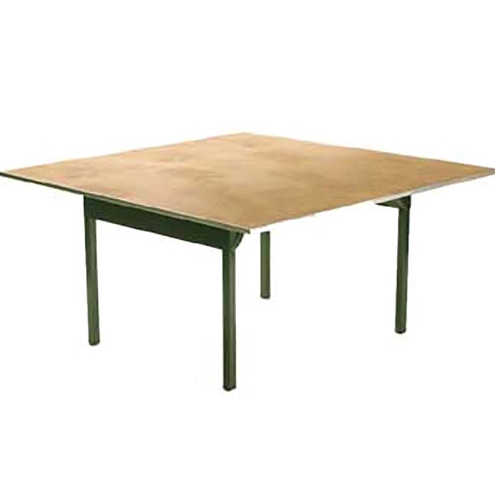 Maywood Dporig54sq Square Folding Table 54 X 30 In