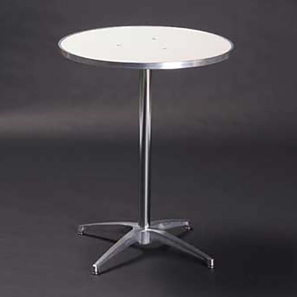 60 Inch Square Pedestal Table: 24 Inch Round Pedestal Table