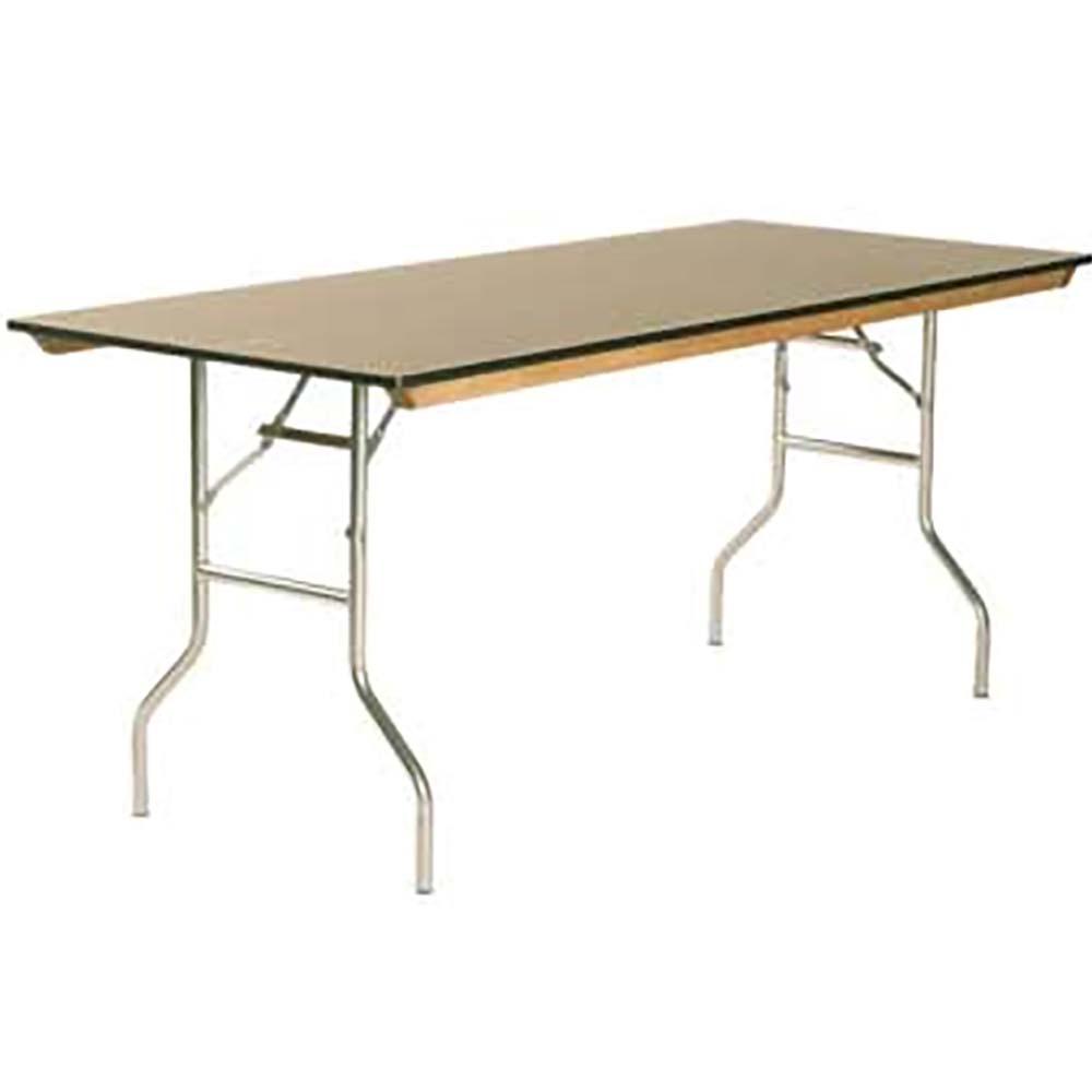Maywood Ml3660 Folding Table Rectangular Laminated Top 60 X 36 30 Inch