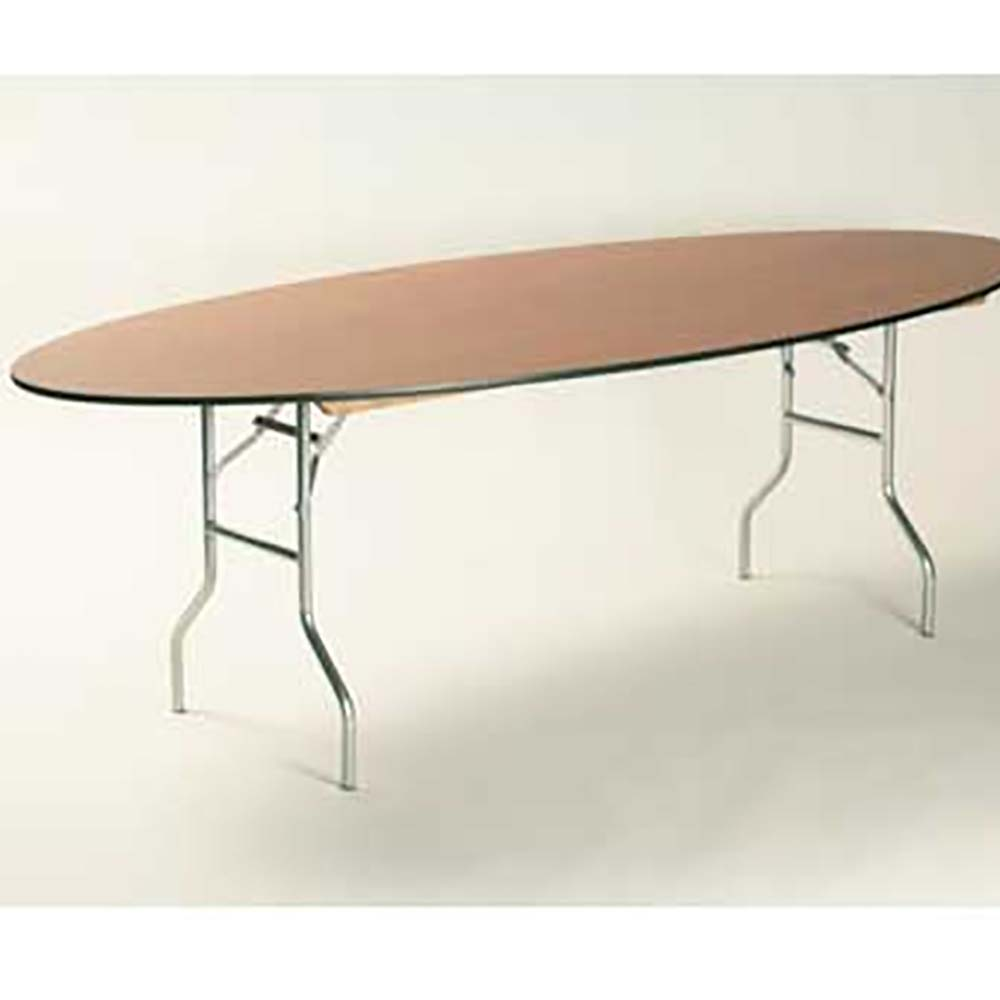 Maywood ML4896OVAL   Oval Folding Table, 96 X 48 X 30 In.