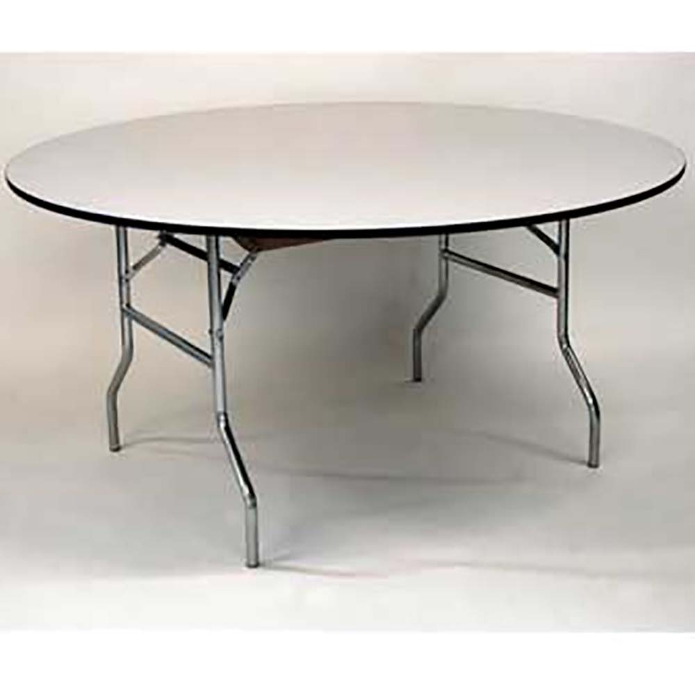 - Maywood Furniture ML72RD - Round Folding Table, 72 X 30 In.