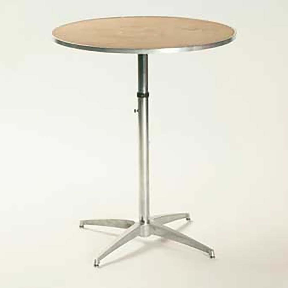 Maywood mp30rdpedadj pedestal table 30 inch round top for Furniture 7 days to die