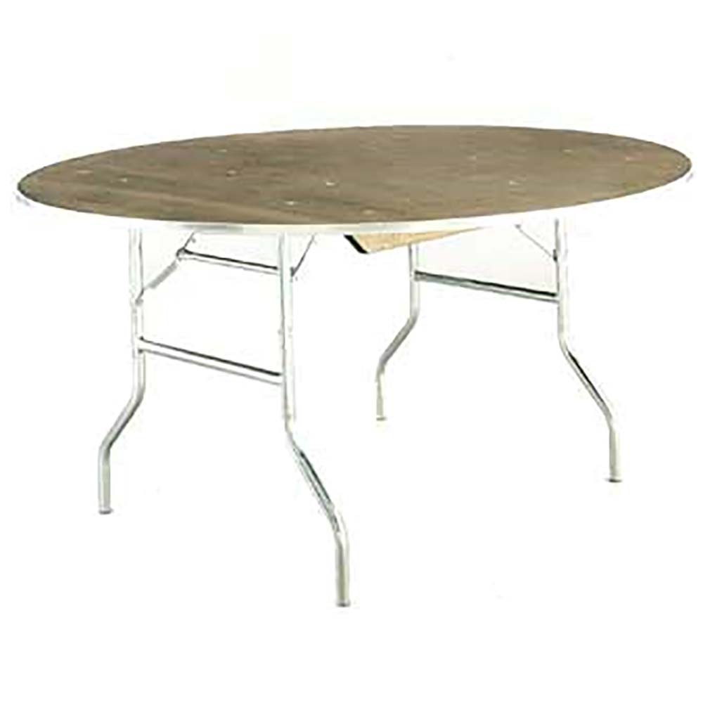 - Maywood Furniture MP72RD - Round Folding Table, 72 X 30 In.