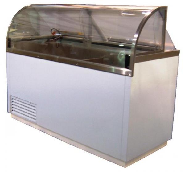 DIPHV Nelson Curved Visual Dipping Cabinet Facings - Dipping cabinet