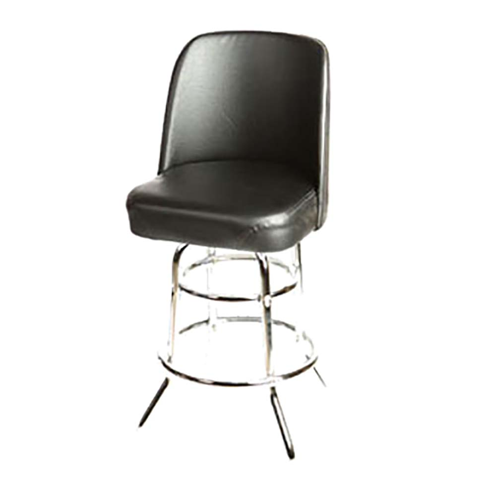 Oak Street Sl2134 Blk Black Vinyl Bar Stool W Vinyl