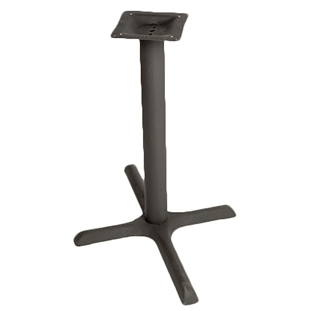 DFBSTD Oak Street Table Base Outdoor X Base Spread - 30 inch table base