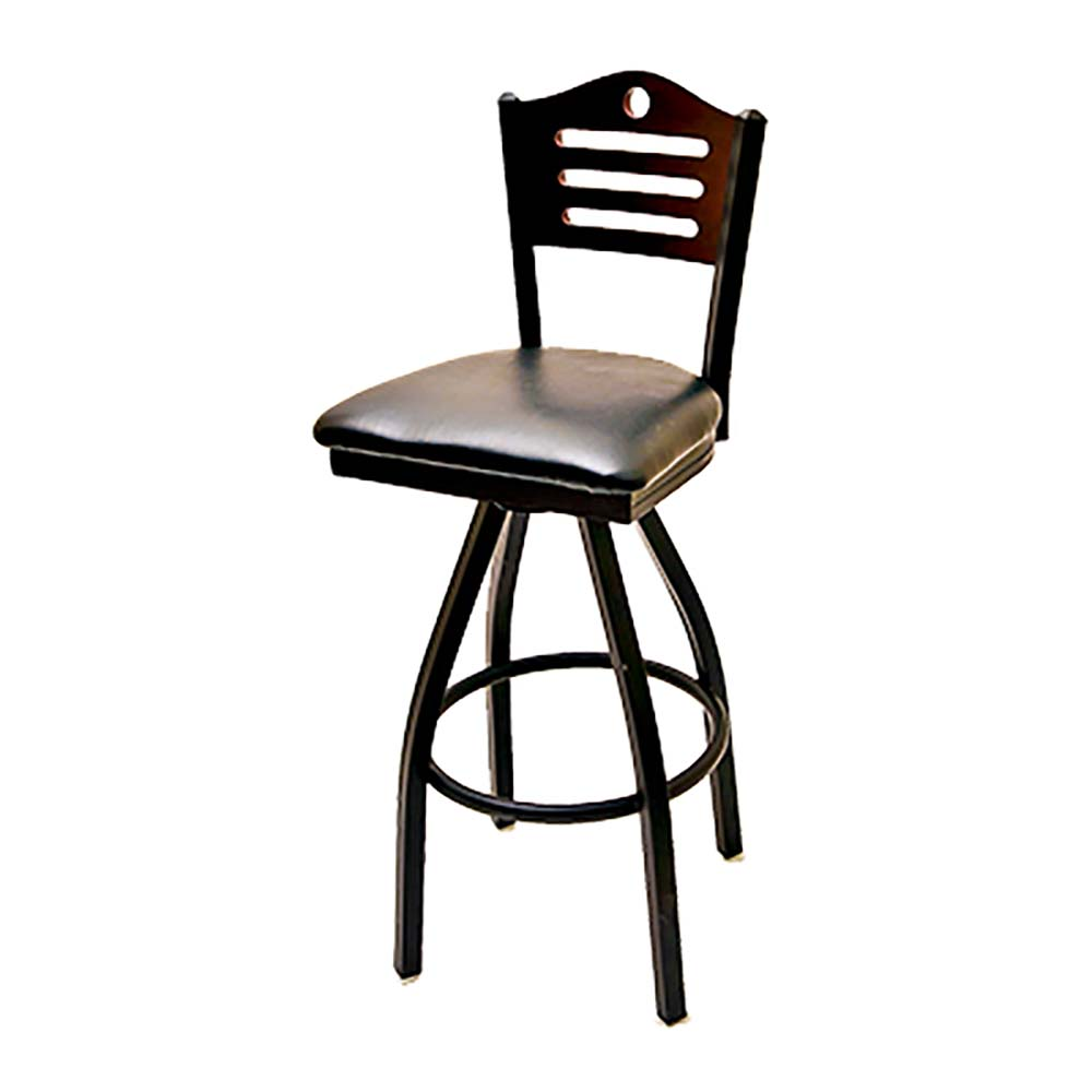 Awesome Oak Street Sl2150 1S Sh Swivel Bar Stool Wood Shoreline Back Seat To Be Specified 1 2Mm Steel Frame Lamtechconsult Wood Chair Design Ideas Lamtechconsultcom