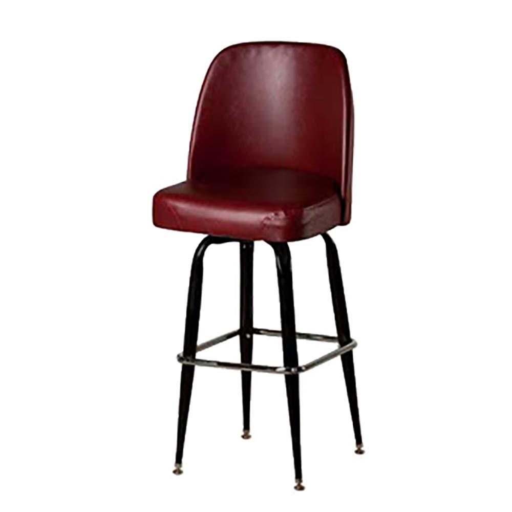 Oak Street Sl3133 Wine Swivel Bar Stool Upholstered