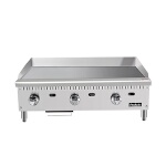 Heavy Duty Griddle, gas