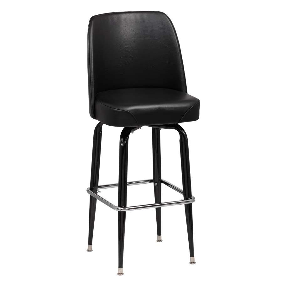 Roy 7714 B Royal Industries Bucket Seat Bar Stool Set Of 2