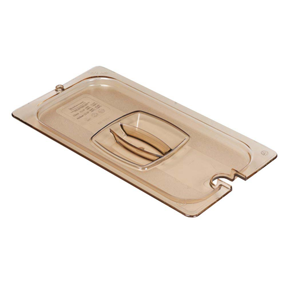 Rubbermaid Fg228p23ambr Hot Food Pan Cover 1 2 Size