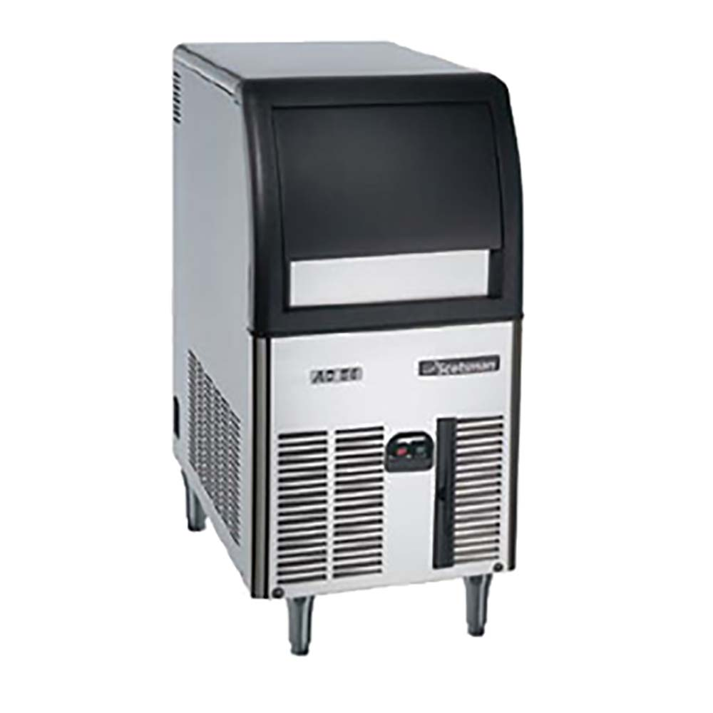 Scotsman Cu0515ga 1 Undercounter Cube Ice Machine With Bin Air Cooled