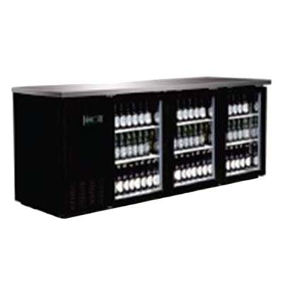 Bb4 24g Hc Serv Ware Back Bar Cooler Three Section 73