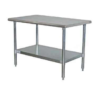 TCWP ServWare Work Table X Series Stainless St - 24 x 48 stainless steel work table