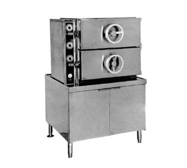Southbend DDA 2S   Do All Dual Pressure Steamer, Direct Steam,