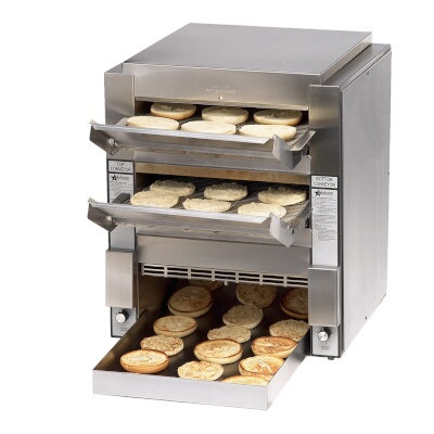 High Volume Toaster ~ Dt star manufacturing high volume double conveyor toaster