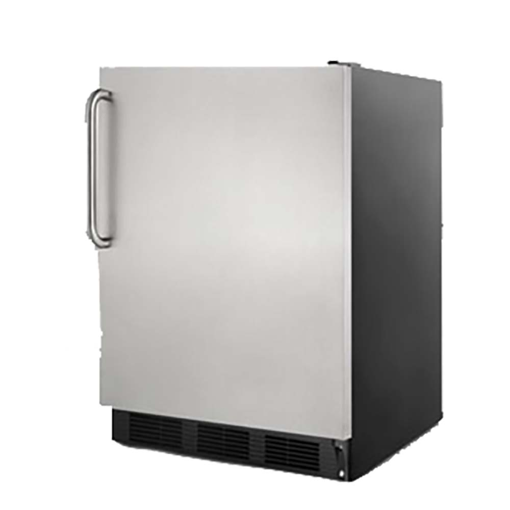 summit ff7bsstb accucold medical undercounter refrigerator 55 cu ft - Commercial Undercounter Refrigerator