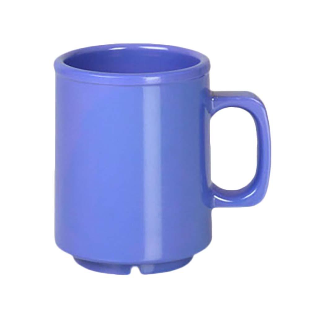 Thunder CR9010BU - Mug, 8 oz , melamine, purple, (Case of 12)