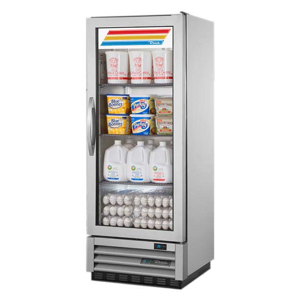 True T 12g Hcfgd01 Reach In Refrigerator One Section 1 Glass Door
