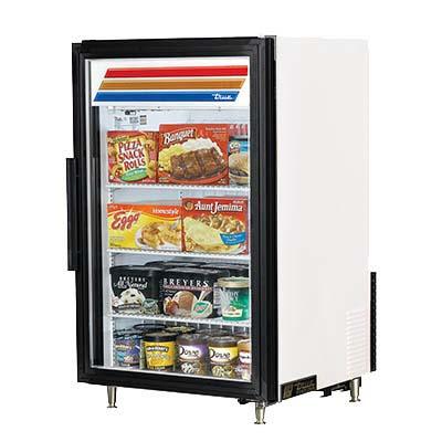 True Gdm 07f Hctsl01 Countertop Freezer Merchandiser 10 F 1