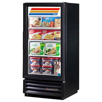 True Gdm 10f Hc Ld W Freezer Merchandiser 1 Section 10 F Glass Door