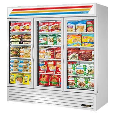 True Gdm 72f Hctsl01 Freezer Merchandiser 3 Section 10 F 3