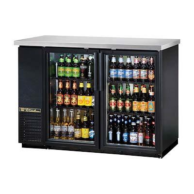 True Tbb 24 48g Hc Ld Back Bar Cooler Two Section 2 12 Keg 2