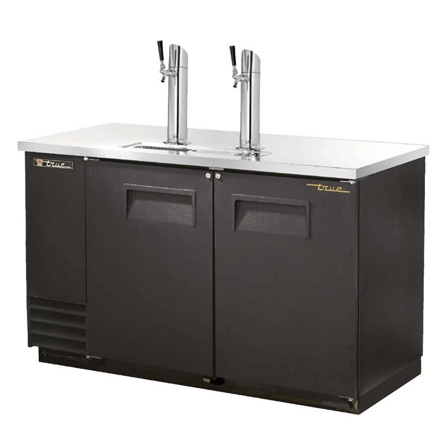 TDD-2-HC - Draft Beer Cooler, (2) keg, (2) doors, (2) column beer ...