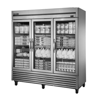 True Ts 72g Hcfgd01 Reach In Refrigerator Three Section 3