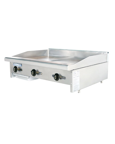 Tatg 36 Turbo Air Radiance Griddle Countertop Gas 36