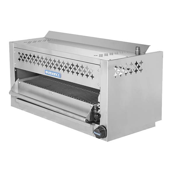Turbo Air TASM 24   Radiance Salamander, 24 Inch Wide, Stainless Steel Front