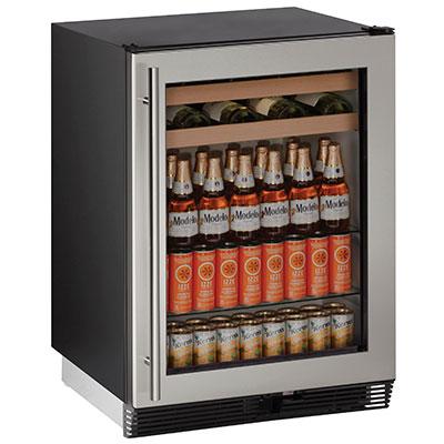 U 1024bevs 00b Uline 24 Quot Beverage Refrigerator