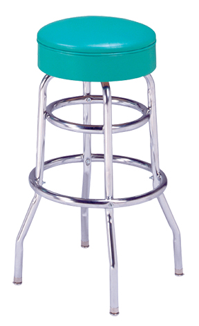 215 125 R Vitro Classic Stool With Double Ring Base 30