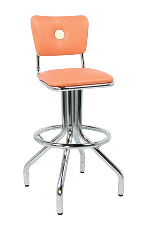 250 921 Bb Vitro Classic Stool With Button Back