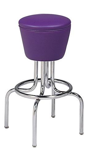 264 161 Vitro Classic Drum Seat Stool With Bent Legs 30