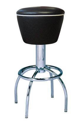 300 161 Vitro Classic Drum Seat Stool With Arch Legs 30
