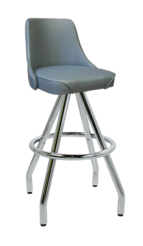 400 242 Wf Vitro Classic Fully Upholstered Stool With