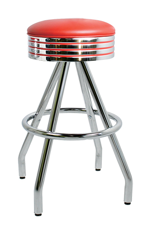 400 782 Vitro Classic Grooved Ring Stool With Pyramid