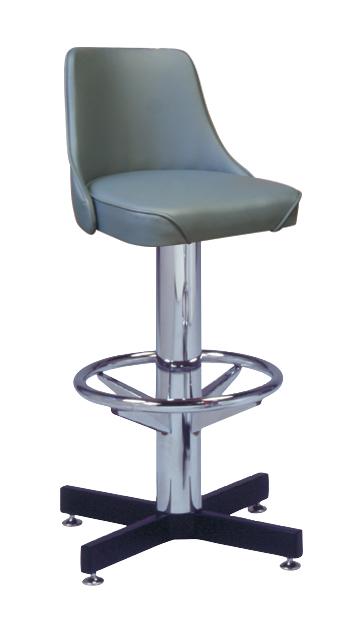 500 242 Wf Vitro Classic Fully Upholstered Stool With
