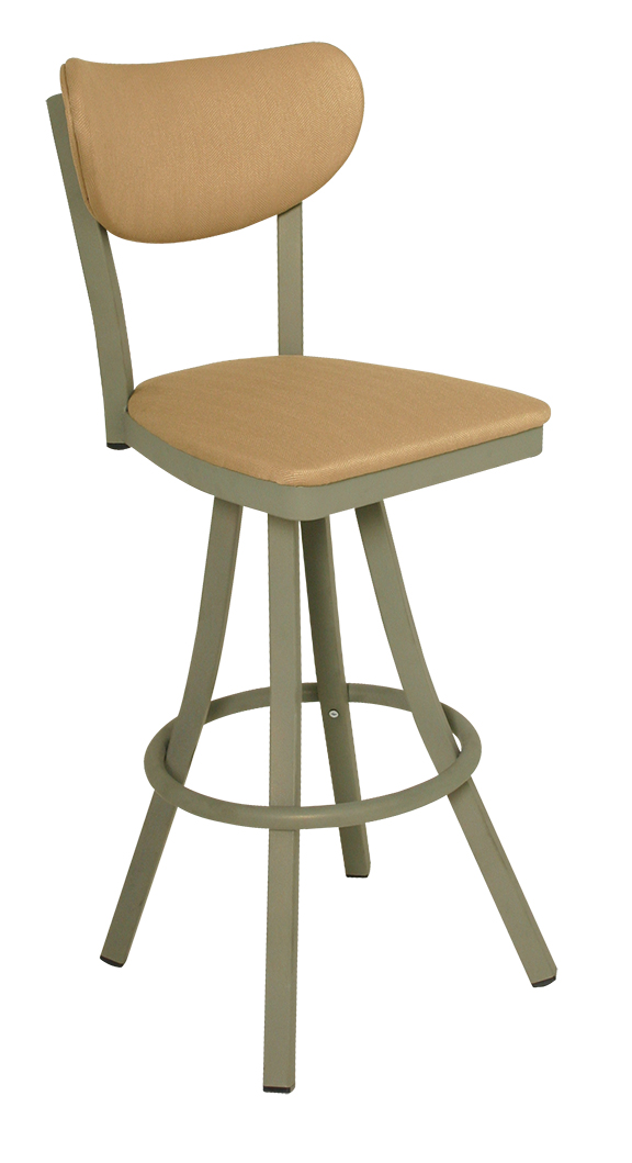 600 Ox 40 Bs Vitro Seating Oxford Stool 43 Quot H Banana