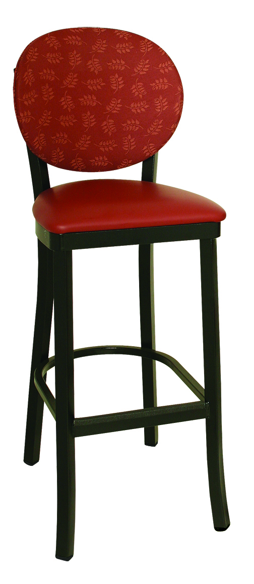 Ox 120 Bs Vitro Seating Oxford Stool 45 Quot H Round Back