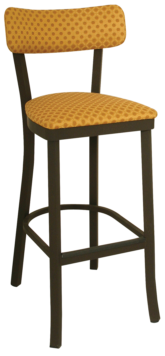 Ox 150 Bs Vitro Seating Oxford Stool 43 Quot H Sled Back