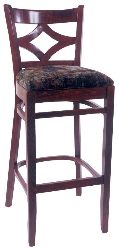 Wls 1130 Bs Vitro Seating Woodland Diamondback Stool 43