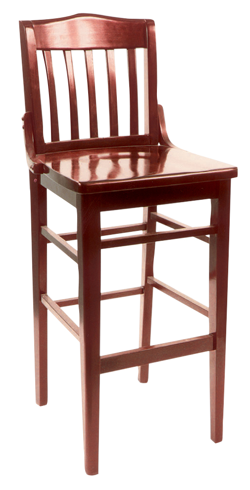 Wls 1180 Bs Vitro Seating Woodland Schoolhouse Stool 44