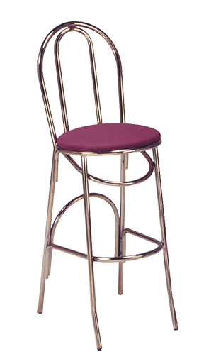 X 52 Bs Vitro Seating Parlor Hairpin Stool 43 Quot H Grade 5