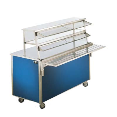 Vollrath Double Decker Cafeteria Display Server In - Cafeteria steam table
