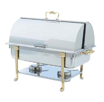 Vollrath 46051 Classic Design Full Size Roll Top Chafing