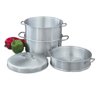 Vollrath 68125   3 Tier Vegetable Steamer/Boiler, 5 Qt.